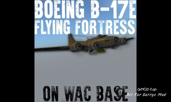 [WAC] Boeing B-17E Flying Fortress