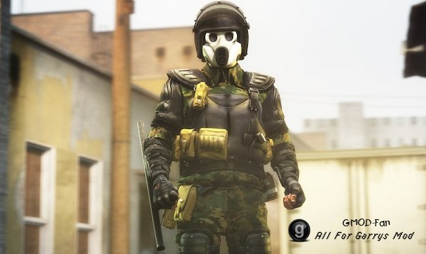 Georgian Riot Police - PM, NPC & Ragdoll