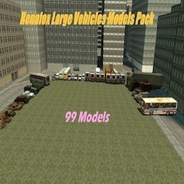 Renafox's Large Vehicles Models Pack