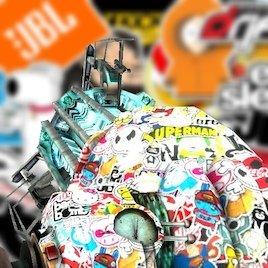 Physgun retexture - StickerBomb
