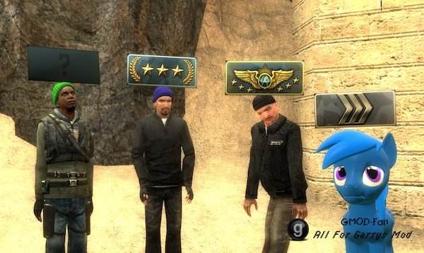 Rank Model (Counter-Strike: Global Offensive)