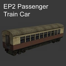 EP2 Passenger Train Car