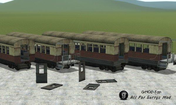 EP2 Passenger Train Car