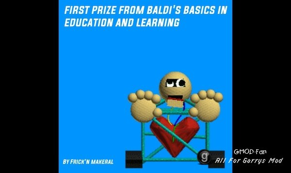 First Prize from Baldi's Basics in Education and Learning Nextbot