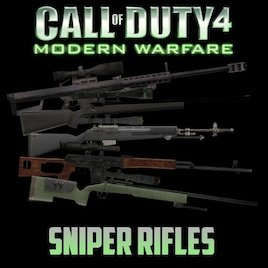 Call of Duty 4: Modern Warfare Sniper Rifles