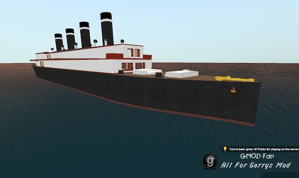 Ocean liner parts pack