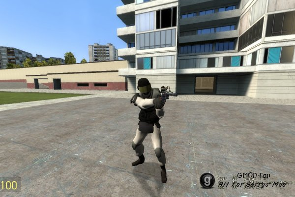 SCP:CB Guard Player Model & NPC