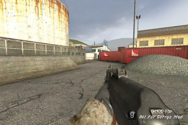 Call of Duty 4: Modern Warfare Submachine Guns