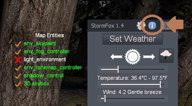 (Update 1.5) StormFox - Environment mod