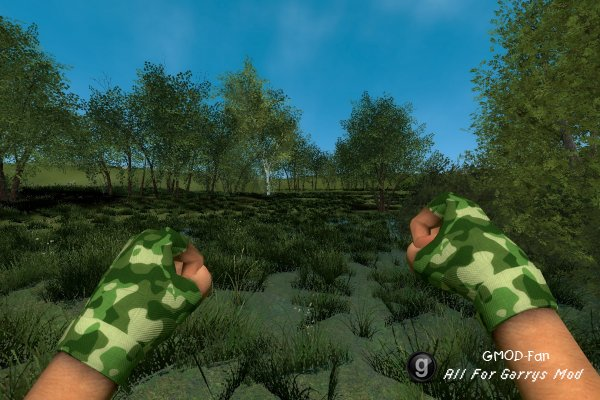 FRESHBYTE Military Gloves (green)