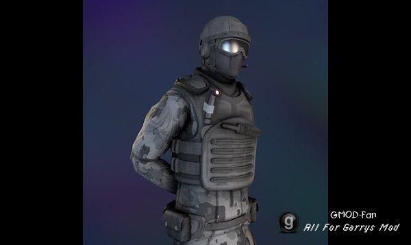 SCP: Unity Guard [Playermodel]