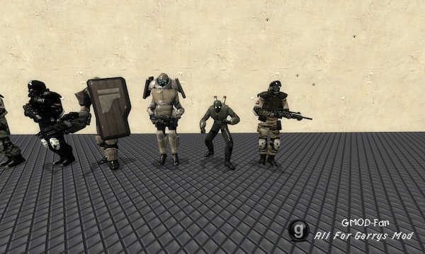 F.E.A.R. Replica Forces NPCs and Playermodels