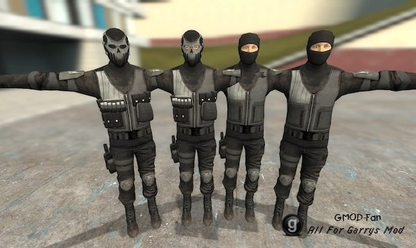 SWAT/Shield Zeal Team [PayDay 2] [pm/npc]