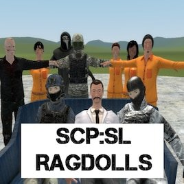 SCP: Secret Laboratory Human Ragdolls