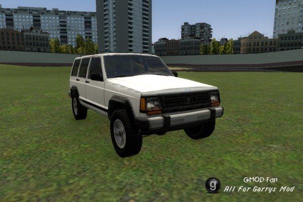 SCars - Jeep Cherokee 1986