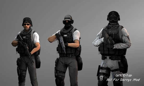 SCP Operators [NPCs AND PLAYERMODELS]