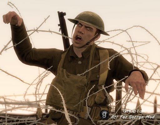 Battlefield 1 Barbed Wire