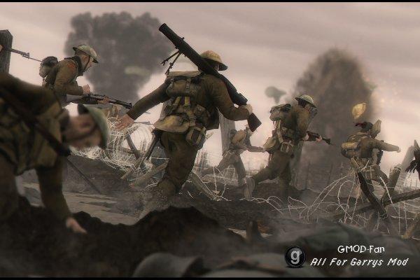 Battlefield 1 Barbed Wire