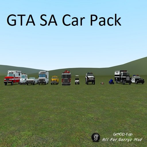 GTA SA CARS [BETA]
