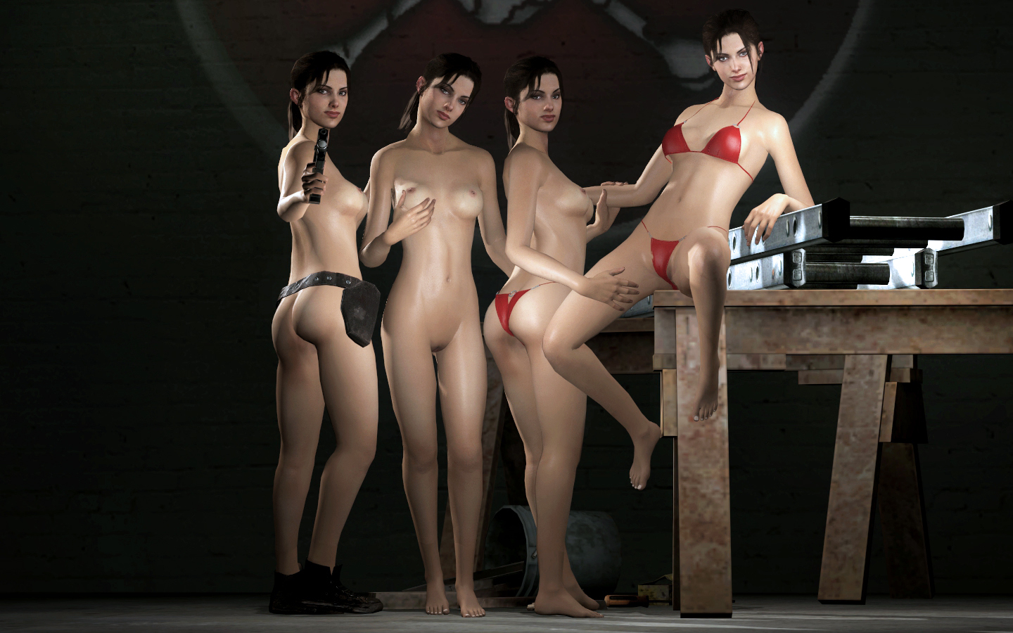 Nude gmod player models adult scenes