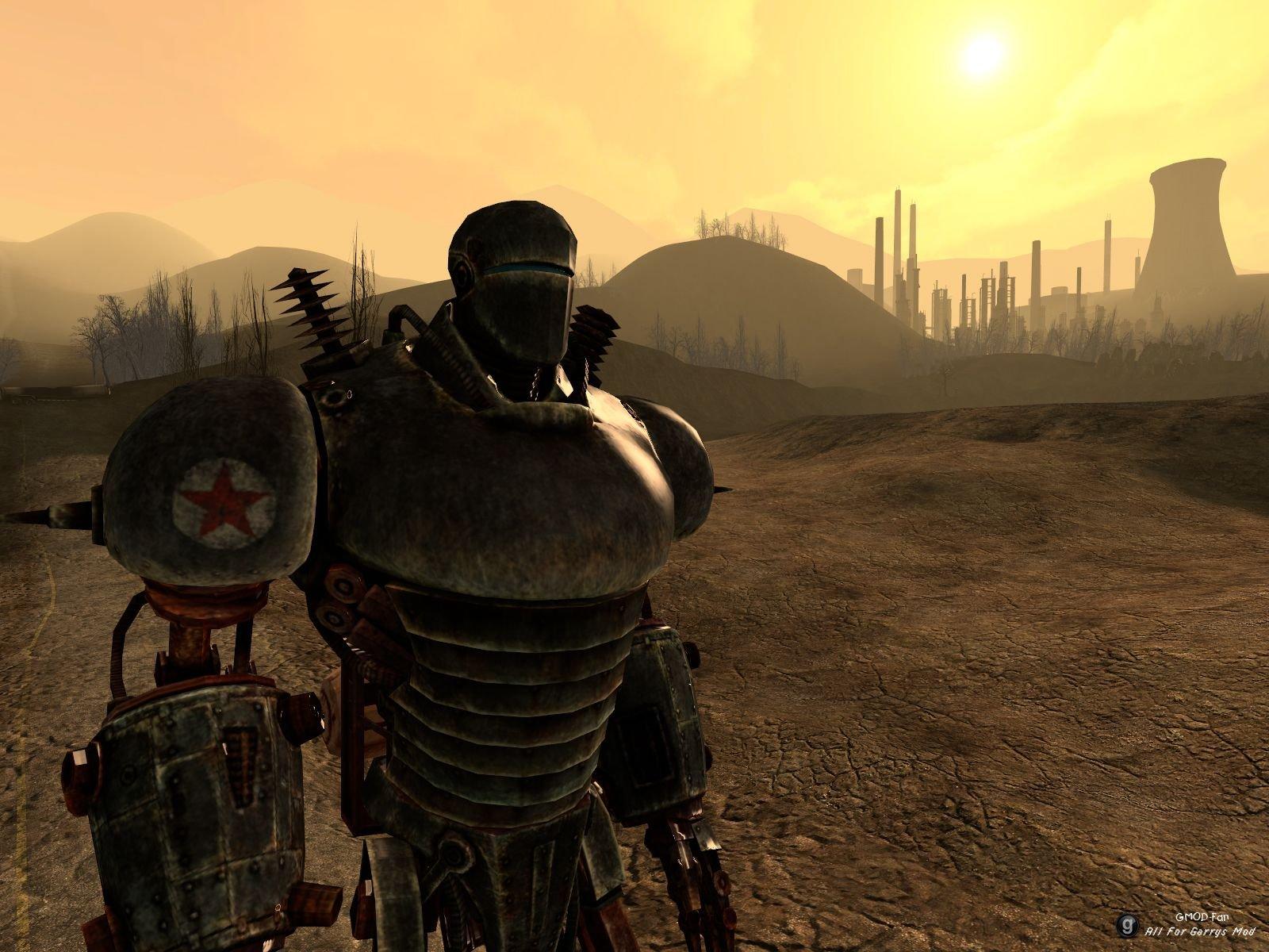 Fallout New Vegas Моды Livingstone Gmod