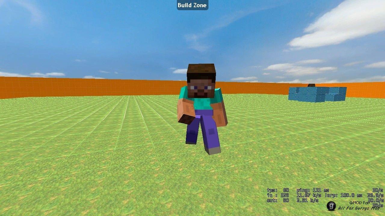 Minecraft мод на человечков