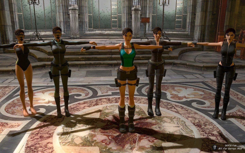 Lara croft mod pack porn videos