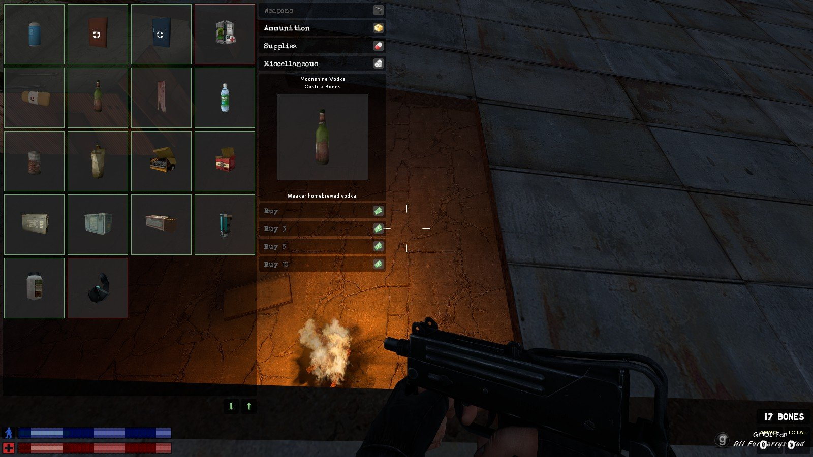 Как сделать ракету в garry mod