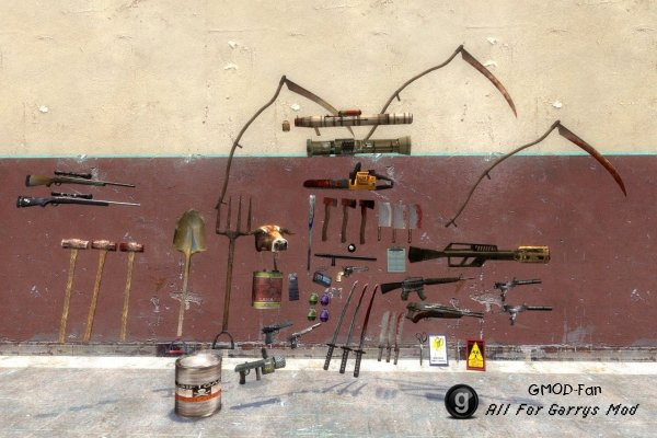 Postal 2 weapons ported