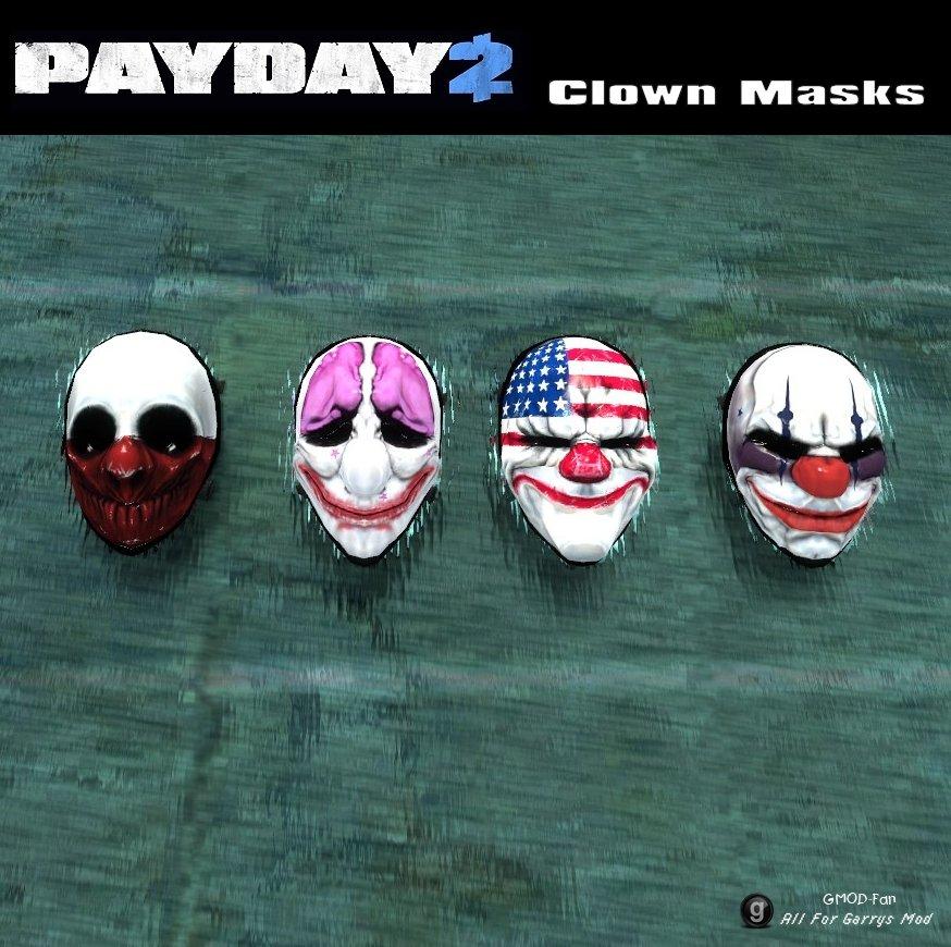 Payday 2 маска