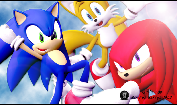 Garry`s Mod 13 Sonic exe Player Model