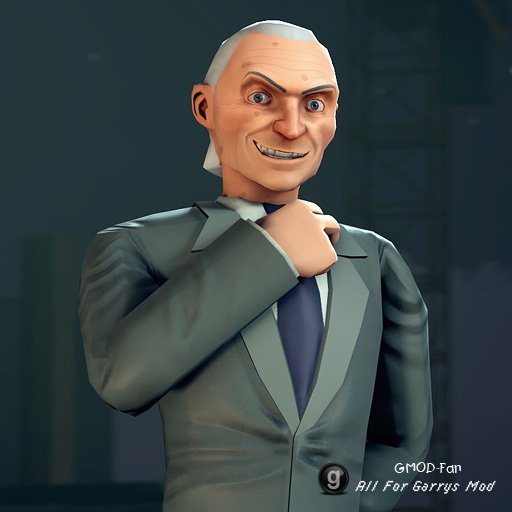 TF2 Gray Mann Ragdoll