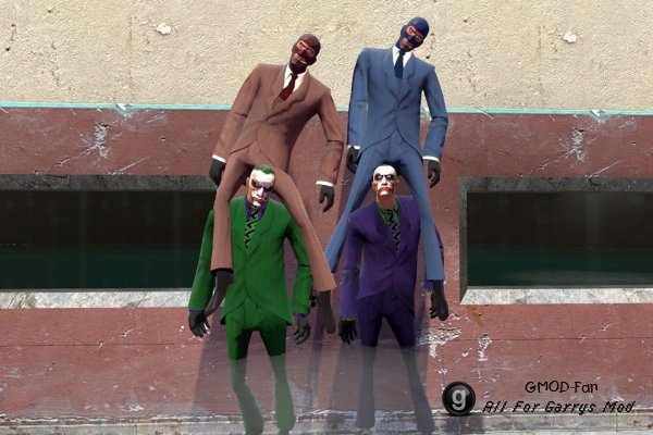 Spy Joker skin hexed
