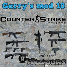 Garry's mod 10 Counter-Strike: Source Weapons
