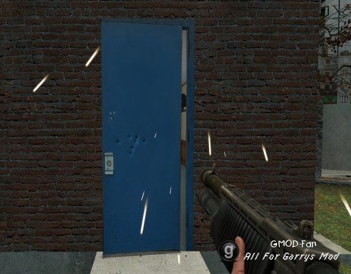 Destructible Doors for Gmod