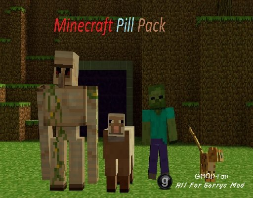Minecraft Pill Pack