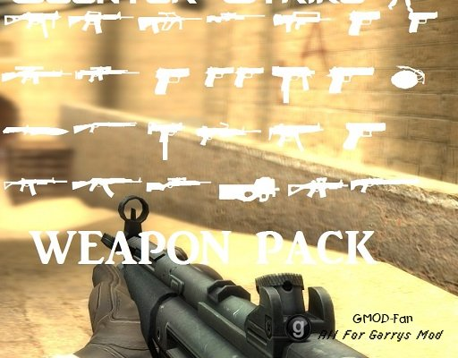 (WIP) Counter-Strike Source Weapons