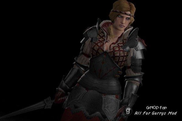 Saskia from Witcher 2