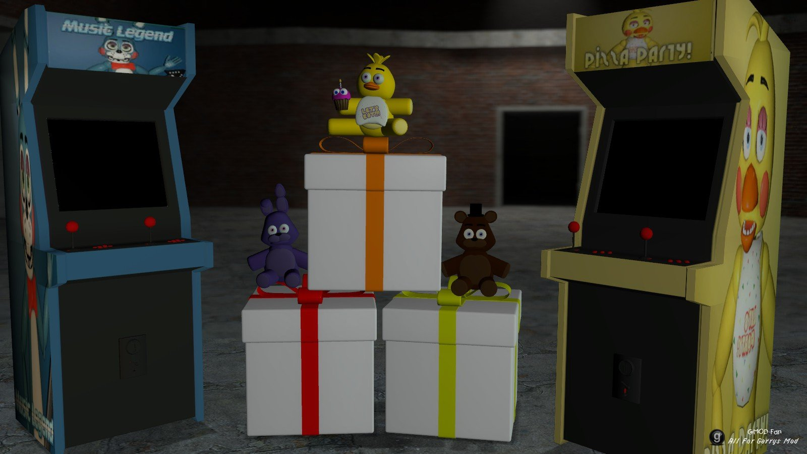 The minecraft freddycraft v1 4 adds things from fnaf 1 2 3 and 4