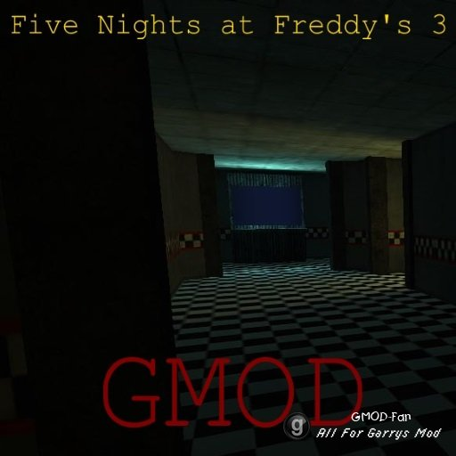 Five Nights At Freddy's 3 GMOD Map