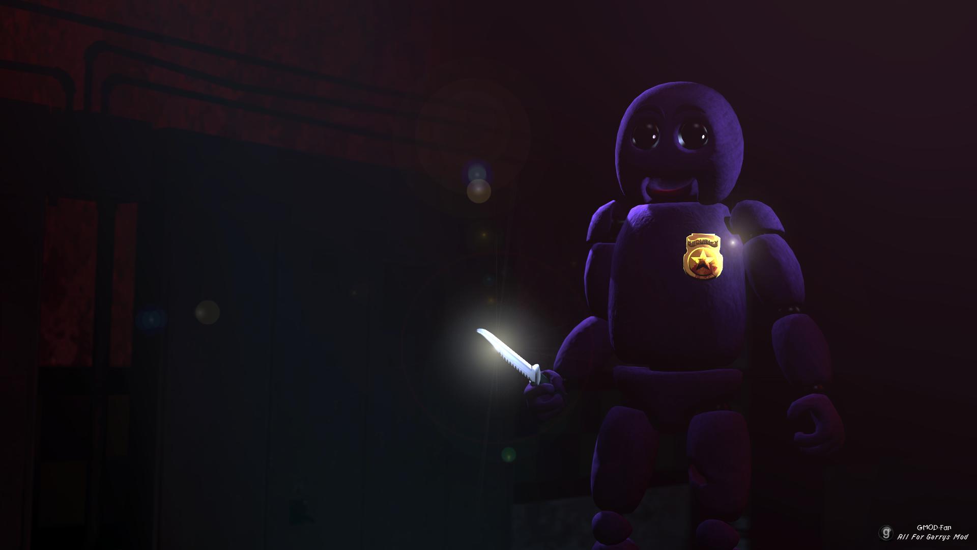 Purple Guy (Animatronic Style