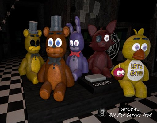 Five Nights At Freddy's - Plushies