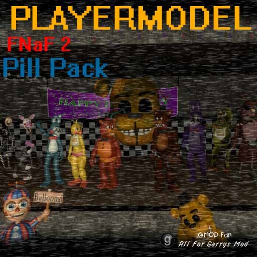 "Five Nights At Freddys 2 ""Playermodel"" Pill Pac"