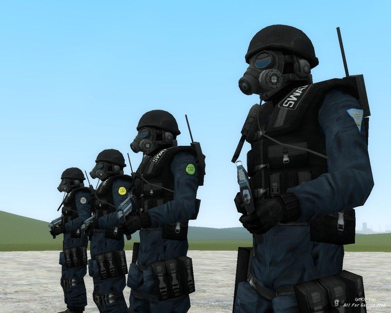 nightmare house 2 swat npcs