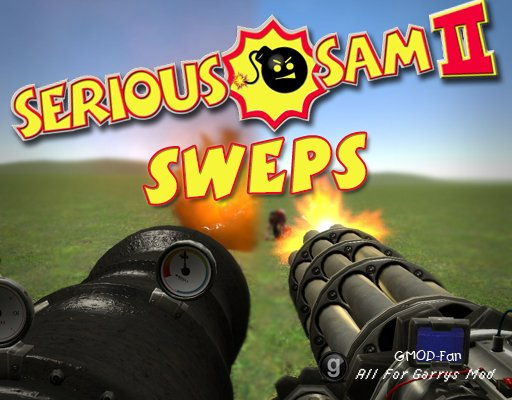 Serious Sam 2 SWEPs