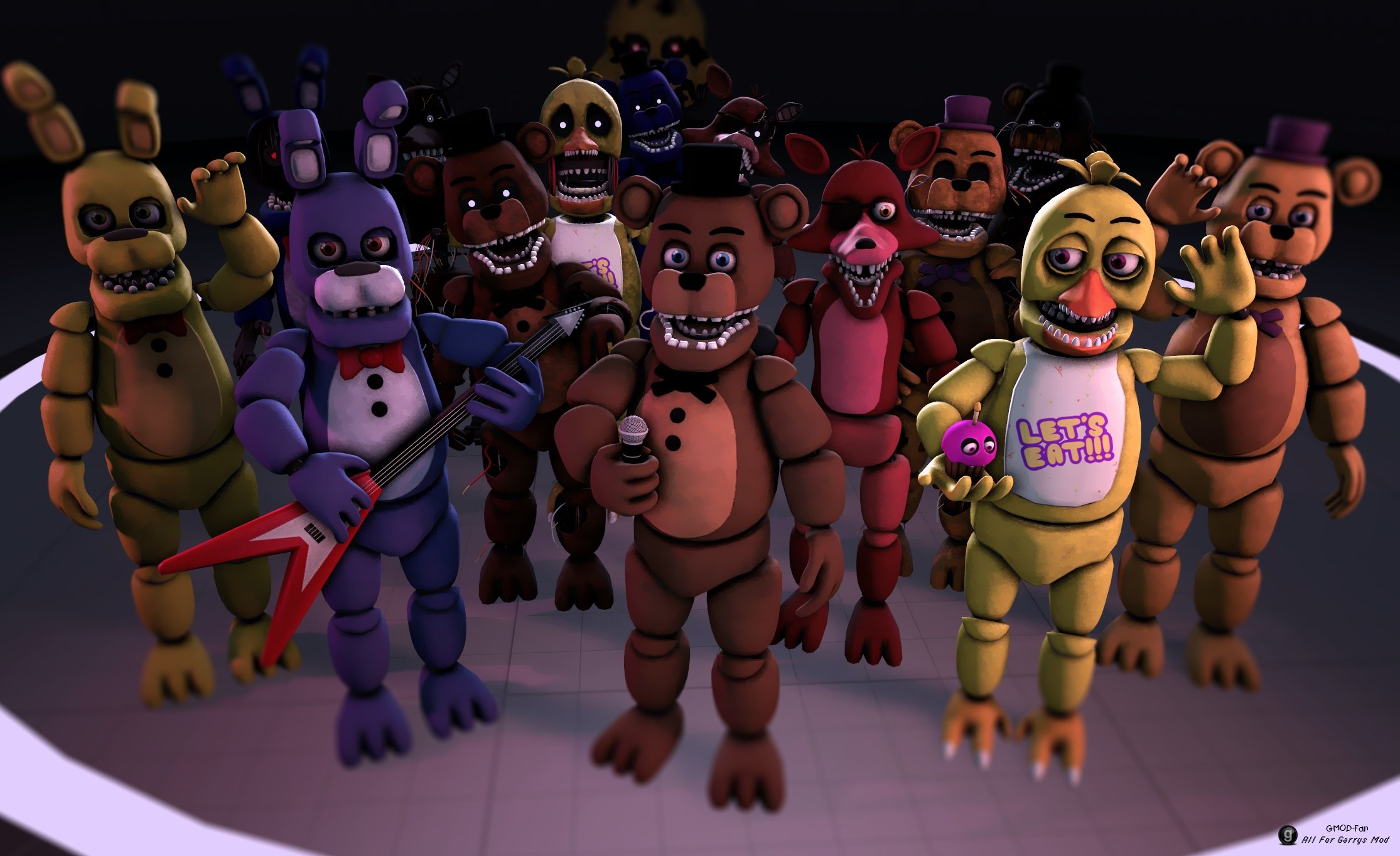 Scratch Five Nights At Freddy S Demo