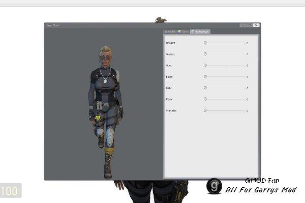 Как создать модели игроков