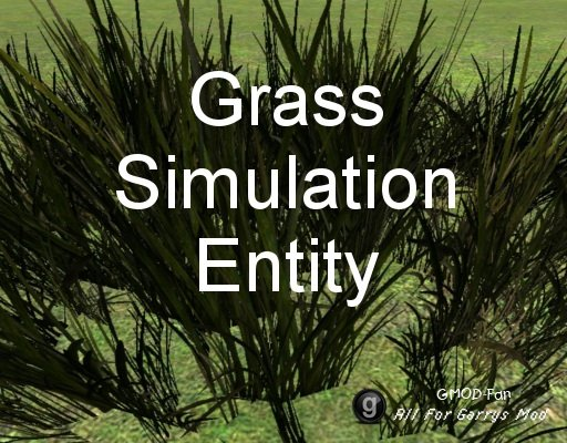 Grass simulation entity