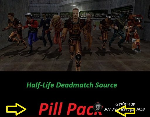 Half-Life DM Source Pill Pack